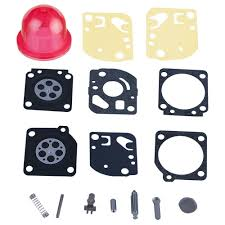 amazon com hipa carburetor rebuild kit with primer bulb for zama