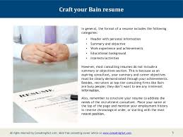 Sample Of Objectives In A Resume by Bain Resume Sample