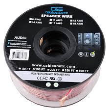 fluance avbp2 home theater bipolar surround sound satellite speakers amazon com c u0026e 100 feet 14awg enhanced loud oxygen free copper