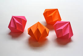 origami ornaments how about orange