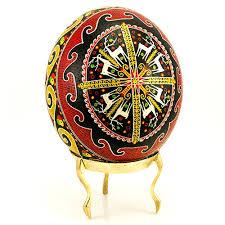 decorated goose eggs center decorated ukrainian design ostrich egg