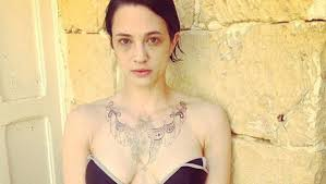 asia argento tatuaggio roma international tattoo expo