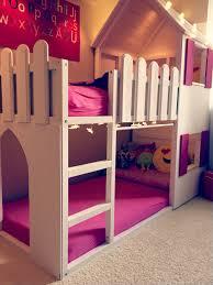 diy ikea loft bed ikea kura bed hack trofast stairs bunk diy projects photo triple