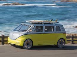black volkswagen bus vw announces electric microbus for 2022 business insider
