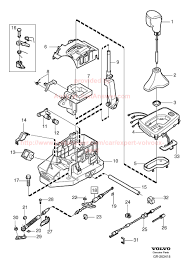 volvo truck parts diagram 2005 volvo v70 t5 gear selector hill put back into d next time