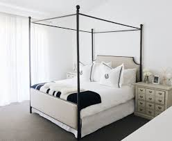 Upholstered Canopy Bed Master Bedroom Reveal With Joss Me And Mr Jones