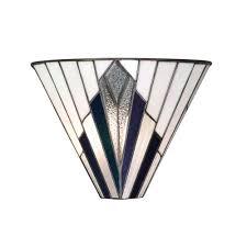 Art Deco Wall Lights Tiffany Astoria Uplighter Wall Washer Wall Light In Art Deco Style