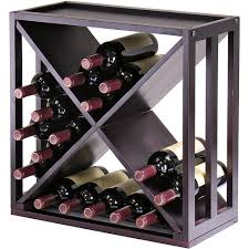 kingston modular x cube wine rack hayneedle