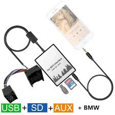 car digital music cd changer usb sd aux in mp3 player adapter for