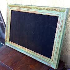 sold large framed shabby chic chalkboard antique vintage chippy