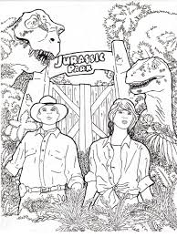 downloads online coloring page jurassic park coloring pages 74