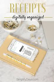 receipts digitally organized step guide organizing and