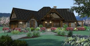 house one story craftsman bungalow house plans