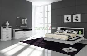 black and white bedroom ideas for small rooms dark tufted leather