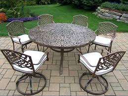 wrought iron outdoor dining table wrought iron patio dining set patio round patio table sets round