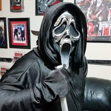 scream halloween mask scream costume with 25th anniversary chrome mask horror amino