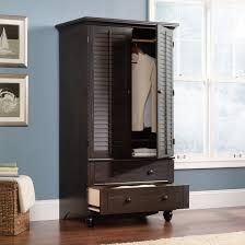 Mirror Armoire Wardrobe White Armoire With Drawers Antique Identification Armoires Bedroom