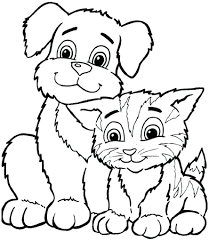dog coloring page 99 interesting pages free printable dog