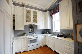 How Paint Kitchen Cabinets White by Painting Kitchen Cabinets White Metal Hanging Round Silver Hanging