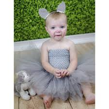 gray kitty cat tutu dress size newborn 12 18 months birthday party