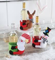 mud pie christmas santa u0026 co kitchen wine bottle decor gift