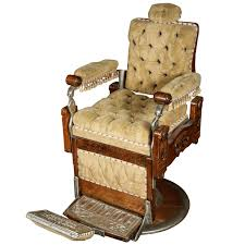 Barber Chair For Sale Restored 1800s Barber Chair By Kochs For Sale At 1stdibs