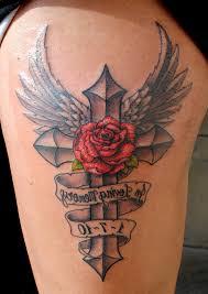 black grey cross tattoos tattoo fantastic