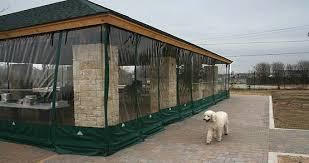 Outdoor Winter Curtains Tub Enclosures Tub Screens High Wind Tub Curtains
