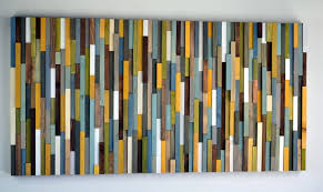 Barn Wood Paintings Modern Reclaimed Wood Art Wall Sculpture Abstract Painting On