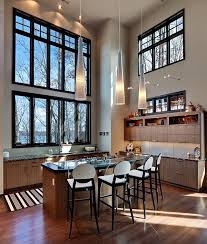 Lighting For High Ceilings Tasty Kitchen Lighting Ideas For High Ceilings Minimalist New In