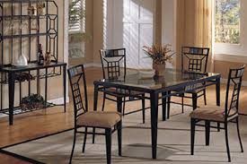 Wrought Iron Dining Table And Chairs Attractive Iron Dining Room Chairs With Wrought Iron Furniture