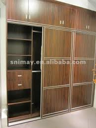 Bedroom Woodwork Designs Marvellous Design Of Wooden Almirah In The Wall Images Best Idea