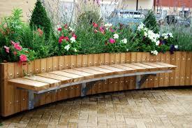 trellis with planter planter accessories street design