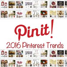 thepinterest trends of 2016 melspeak