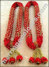 garlands for wedding grand maroon intricate design garland wedding maalai garlands