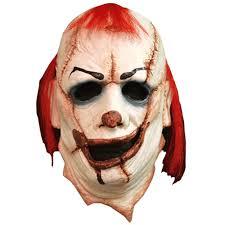 rob zombie halloween clown mask kill joy clown mask 277800 halloween mask trendyhalloween com
