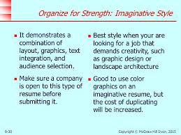 Best Type Of Resume To Use by Strategies In The Job Search Process Ppt Download