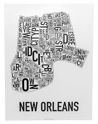 Map New Orleans by New Orleans Neighborhood Map 18