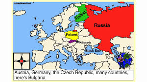 Show Me A Map Of Europe by Eastern Europe Geography Song Youtube