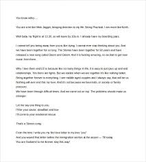 9 love letter templates to my wife free sample example format