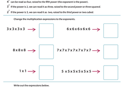 exponents and powers of ten worksheets education com