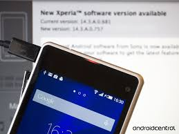 android version 4 4 4 sony starts android 4 4 4 roll out for xperia z1 compact also