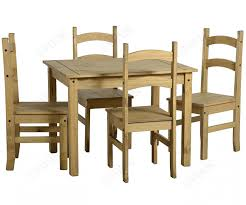seconique budget mexican budget mexican pine 4 seater dining set