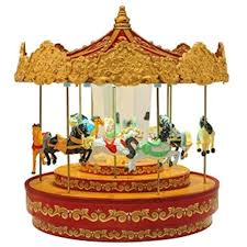 musical carousels carousel boxes musical merry go