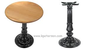 round cast iron table cast iron antique reproduction table base for small table tops