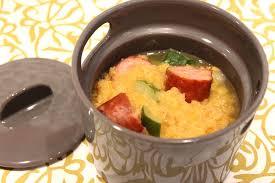 pour ceux qui aiment cuisiner mini cocotte aux lentilles corail et aux saucisses de morteau pour