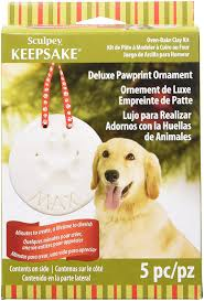 sculpey keepsake deluxe pawprint kit pet supplies