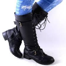 womens boots size 8 22 combat boots black sobatapk com