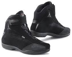 low cut biker boots tcx jupiter evo gore tex boots revzilla