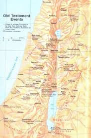 Raven Maps Old Hebrew Testament Cities And Events Bible Land Maps From All
